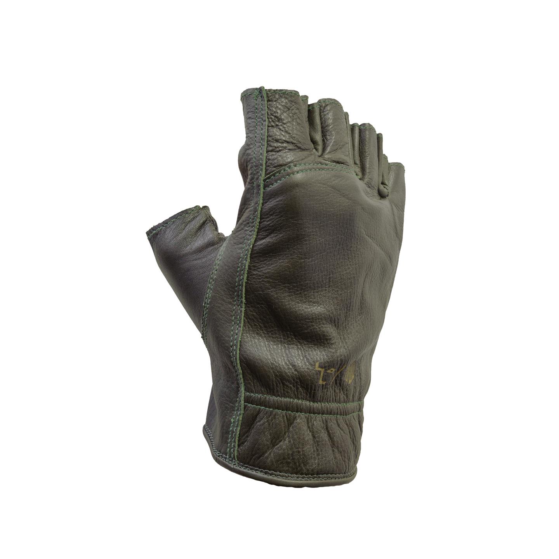 Del Mar Gloves Olive Half